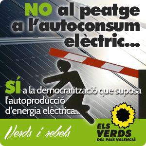 No al peatge a l'autoconsum elèctric