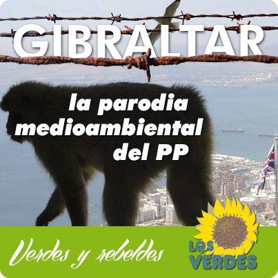 Gibraltar: parodia mediambiental del PP