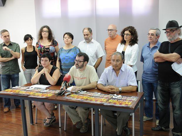 Comissió 9 d'Octubre: roda de premsa