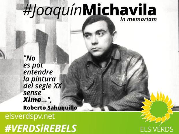 Joanquín Michavila. In memoriam