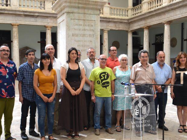 La Plataforma pels Drets Lingüístics demana una llei d'igualtat lingüística i la regulació de la plena capacitació en valencià