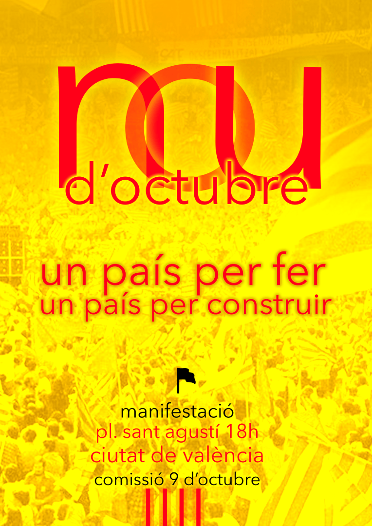 9 d'Octubre. Un país per fer, un país per contruir