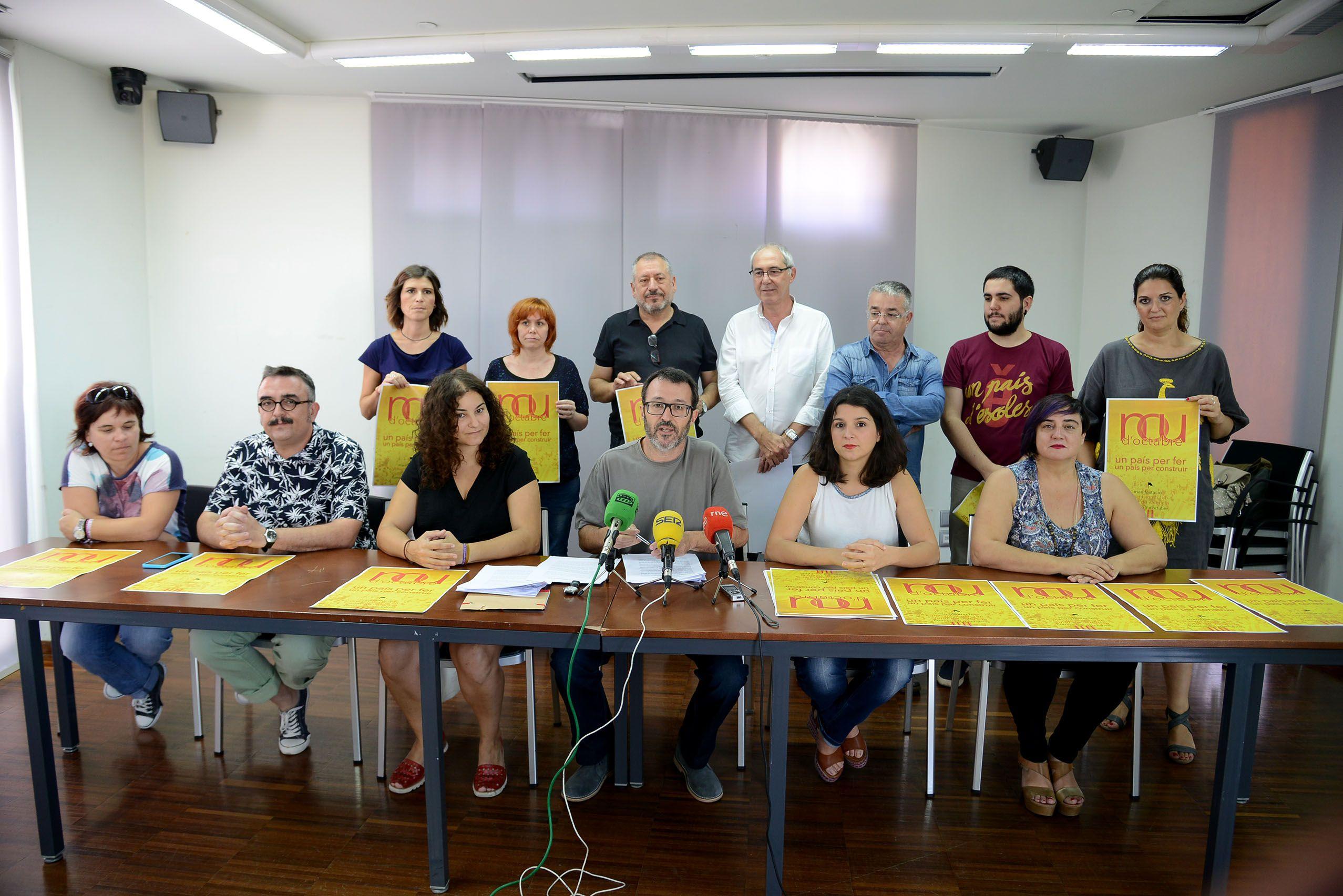 La manifestació del 9 d'Octubre reclama un finançament just per als valencians