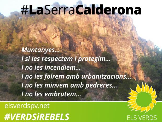 La Serra Calderona llangueix