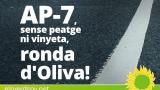 AP-7, sense peatge ni vinyeta, ronda d'Oliva!
